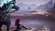 Now I've played through Darksiders 3 and wanted to show you the story, for which the cinematics are best suited. In my compilation I also included the differ. Darksiders Iii, Hack And Slash, Animation, Short Films, Anime, Assassin, Geeks, Character, Travel