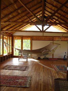 villa matisse -  my yoga and living room in nosara, costa rica