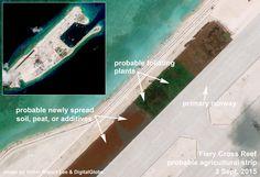 Fiery Cross, Spratlys, South China Sea. Victor Robert Lee article.