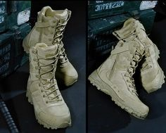Tactical Boots For Men Lightweight Wear Resistant Military Footwear All Purpose Combat Boots Quick Zip Slip On Feature - 2 Colors - Real Time - Diet, Exercise, Fitness, Finance You for Healthy articles ideas Tactical Wear, Tactical Pants, Tactical Clothing, Military Combat Boots, Trekking Shoes, Mens Winter Boots, Mens Boots Fashion, Hiking Boots, Hiking Gear