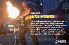 Which 'Fast & Furious' Character Are You?