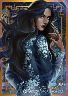 Photo So… I'm posting Zoya. Originally I painted her with white skin. Then someone told me she had dark skin. So I darkened it… She still looks white regardless changing her skin color (sorry about that) I haven't read King of scars yet so hope you guys… Book Characters, Fantasy Characters, Female Characters, Photomontage, Fan Art, Alina Starkov, Crooked Kingdom, The Darkling, The Grisha Trilogy
