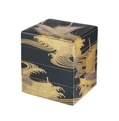 A Four-Tiered Jubako [Tiered Food Container] Momoyama-Edo Period (late 16th-17th century) Decorated in gold takamaki-e, the interiors black lacquer, fundame rims 26cm. high .