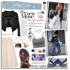 Kawaii by kumi-chan on Polyvore featuring Topshop, WithChic, Karl Lagerfeld, Origami Jewellery, Tiffany & Co. and Lilly Pulitzer