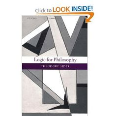 Logic for Philosophy by Ted Sider