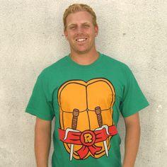 Raphael Teenage Mutant Ninja Turtles T-Shirt Costume TMNT New