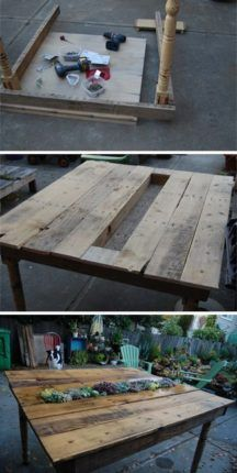 mesa de palete