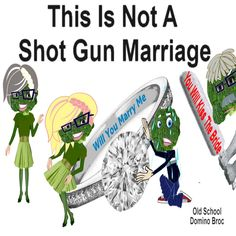 Marriage http://www.cafepress.com/DominoBroc