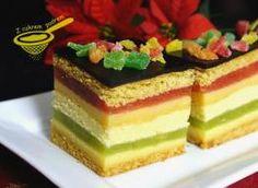 Cake Recipes, Dessert Recipes, Layered Desserts, Polish Recipes, Pastry Cake, Piece Of Cakes, Food Cakes, Homemade Cakes, Capri