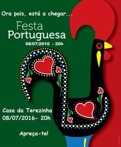 Portugal, Portuguese Culture, Rooster, Symbols, Letters, Christmas Ornaments, Holiday Decor, How To Make, Party