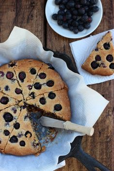 Grain-free Blueberry Cashew Scones - Comforting scones made with cashew meal that are filled with the season's freshest and sweetest blueberries. Perfect for breakfast or afternoon tea with a friend! #food #grainfree #glutenfree #paleo #breakfast #snack #scones #blueberry #afternoontea