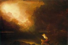 The Voyage of Life Old Age/Thomas Cole