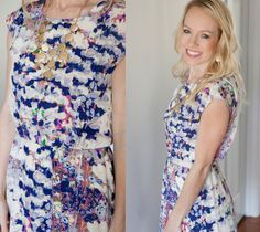 Love this Collective Concepts Katelynn Printed Dress on @cwestlake11!