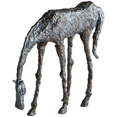 Cyan Design Grazing Horse Sculpture