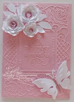 Daily Grace Creations: Sympathy Card -