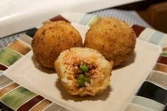 Italian riceballs - arancini