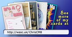 """Want to see dozens of greetings cards you can purchase - just £2.69  Scroll down this page to see links to dozens of artists ... and be sure to click the """"Loyalty Rewards"""" tab !"""