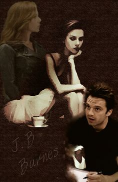 Winterwidow/BuckyNat + Ballerina drawing || Bucky draws Nat || (Edit owned by Miriam Hannah Robinson)