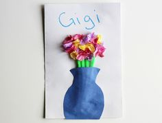 Homemade Mother's Day Card Craft