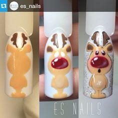 :-) Luxury Beauty - winter nails - http://amzn.to/2lfafj4