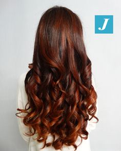 Red Kiss _ Degradé Joelle #cdj #degradejoelle #tagliopuntearia #degradé #igers #musthave #hair #hairstyle #haircolour #longhair #ootd #hairfashion #madeinitaly #wellastudionyc