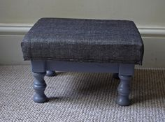 After photo - small footstool