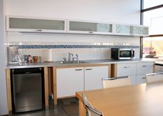 dwell realty commercial office kitchen design