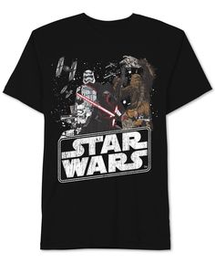 Star Wars Little Boys' The Force Awakens Characters T-Shirt