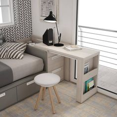 44 best small kitchen design ideas for your tiny space 32 Small Bedroom Ideas Design Ideas Kitchen Small Space Tiny Tiny House Furniture, Home Furniture, Furniture Design, Small Space Furniture, Furniture Ideas, Smart Furniture, Country Furniture, Furniture Layout, Furniture Making