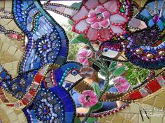 Сочные яркие мозаики Дины Фрид — Рукоделие
