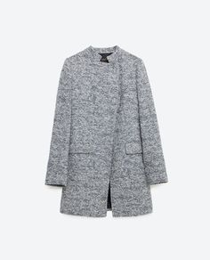 LONG BLAZER WITH CROSSOVER NECKLINE-View all-Outerwear-Woman-COLLECTION SS16 | ZARA Hong Kong S.A.R. of China