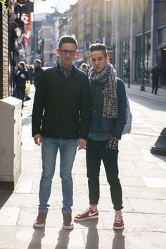 CLR Street Fashion: Lewis and Joe in London http://calitreview.com/35138