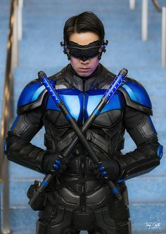 Nolan-verse Nightwing cosplay by hitokirivader
