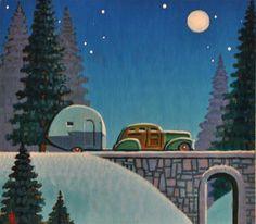 """Snow Bird"" - Original Fine Art for Sale - © Robert LaDuke"