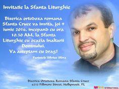 Invitatie la Sfanta Liturghie Florida, Hollywood, Romans, The Florida