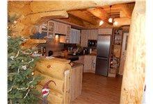 Log Homes Kitchen Log Home Kitchens, Log Homes, Liquor Cabinet, Furniture, Home Decor, Timber Homes, Homemade Home Decor, Log Houses, Home Furnishings