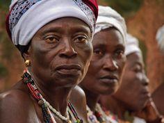 Voodoo ladies in Benin