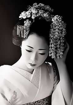 Japan. Maiko is an apprentice geisha in western Japan, especially Kyoto. Their jobs consist of performing songs, dances, and playing the shamisen (three-stringed Japanese instrument) for visitors during feasts.