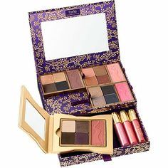 Tarte..Gorgeous Getaways Portable Palette Set is s great value.  With this gift set you get... 16 full size Amazonian Clay Eye Shadows, 4 full size blushes, 3 full size Maracuja Lipglosses, and a portable take and go palette compact.