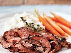 Roasted Flank Steak with Olive Oil-Herb Rub   These meat-based main dishes use fresh ingredients and healthy fats to create heart-smart meals that are filling and fast.