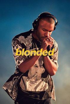 Frank Ocean Blonded Blonde by hypewearco