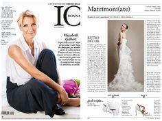 IO Donna Nr.23 del 31 maggio Redazionale Pastore Bridal
