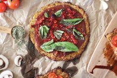 Cauliflower Pizza Crust: How to make (vegan, gluten free)