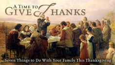 Raising Godly Children: 7 Things to Do With Your Family This Thanksgiving