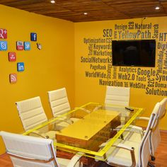 "The Meeting Room of my Office... the ""Yellow Room"" for inspirational meetings"
