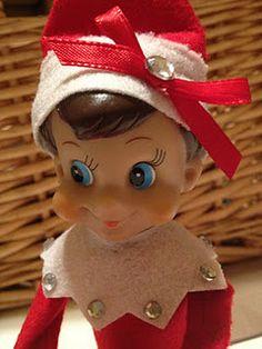 Elf on the Shelf : Make your elf on the shelf girly!!!