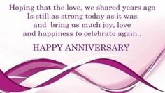 Happy Anniversary Wishes Quotes. QuotesGram by @quotesgram