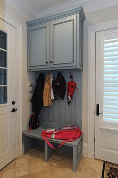 Laundry Rooms - traditional - laundry room - atlanta - Webber Coleman Woodworks