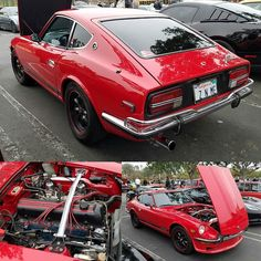 Another nice 240z from this morning at Cars and Coffee.  Who will be at the Eagle Rock swap meet tomorrow?  #Datsun #240z #zcar #zcarsofinstagram #datsun240z #datsunzseries #zseries #fairladyz #nissan @carsandcoffeealisoviejo