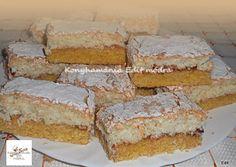 Egyszerű kókuszos szelet   Edit56 receptje - Cookpad receptek Krispie Treats, Rice Krispies, Coco, Vanilla Cake, Food And Drink, Rice Krispie Treats
